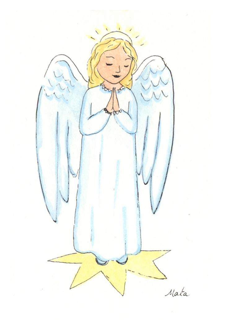 GE2 Star Angel Gift Enclosure by Martha Sperry